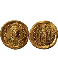 ANASTASE - SOLIDUS OR CONSTANTINOPLE