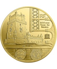 Tour de Belém et Vasco de Gama - 200 Euros Or BE 2019 FRANCE (MDP)