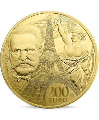 Victor HUGO - Europa Star 200 Euros Or BE FRANCE 2017 (MDP)