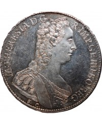 ALLEMAGNE - THALER MARIE THERESE D'AUTRICHE 1765 GRUSBOURG