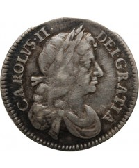 ANGLETERRE, CHARLES II - 4 PENCE ARGENT 1674