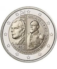 2 Euros Commémo. LUXEMBOURG 2017 - 200 ans Guillaume III
