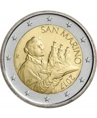 2 Euros Circulation 2017 SAINT MARIN