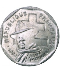 2 Francs Jean Moulin - 1993 FRANCE