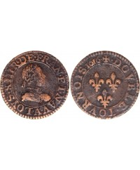 Double tournois - Louis XIII - 1616 A Paris