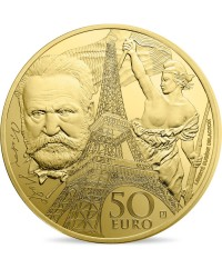 Victor HUGO - Europa Star 50 Euros Or BE FRANCE 2017 (MDP)
