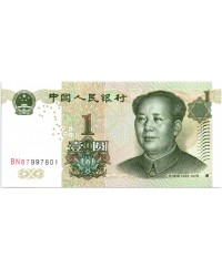 1 Yuan, Mao - Montagne 1999 Chine