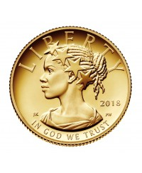 10 Dollars, Liberty - 2018 - Or - 1/10 Once