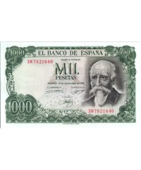 1000 Pesetas - José Echegaray - Madrid - 1971