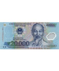 20000 Dong Ho Chi Minh - Temple 2014 Polymer - Neuf