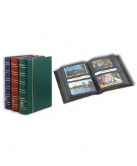 Album multi-usage MULTI pour lettres, cartes postales, photos ou APS. Vert sapin.