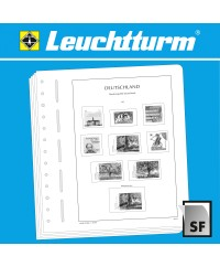 LEUCHTTURM SF Supplement RFA combinaisons de timbres 2017