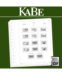 KABE feuilles complémentaires OF France 2017