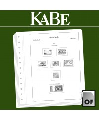 KABE feuilles complémentairesOF Pays-Bas 2017