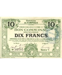 France 1 F Lot de billets