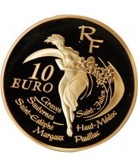 10 EURO BE OR 2005 France 150 ans classement vins