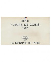 Coffret FDC Franc 1987 - France