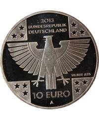 ALLEMAGNE, CROIX ROUGE - 10 EURO BE ARGENT 2013