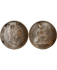 ANGLETERRE, GUILLAUME IV - 4 PENCE ARGENT 1836
