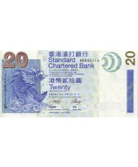 Billet 20 Dollars - Hong Kong 2003