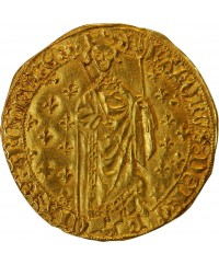 CHARLES VII - ROYAL D'OR LA ROCHELLE 1422 / 1461