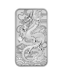 Australie 1 Dollar Elisabeth II - Dragon Australie 1 Oz Rectangle 2018