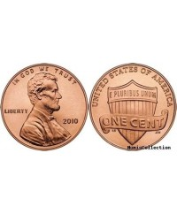 1 Cent, Lincoln - Preservation of the Union 2010