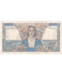 FRANCE, EMPIRE FRANCAIS, 5000 FRANCS 28.03.1946