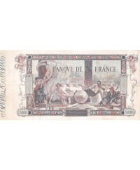 FRANCE, FLAMENG, 5000 FRANCS 09.01.1918