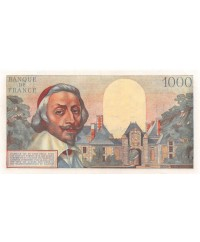 FRANCE, RICHELIEU, 1000 FRANCS 01.10.1953