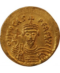 PHOCAS - SOLIDUS OR CONSTANTINOPLE