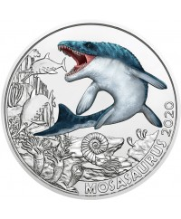 3 Euros Autriche 2020 - Le Mosasaurus (Nouvelle collection)