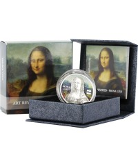 5 Dollars 2017 Argent 1 Oz - Mona Lisa -5 Dollars 2017 Argent 1 Oz - Mona Lisa -