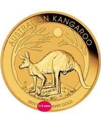 Kangourou - 1/4 Oz Or AUSTRALIE 2019