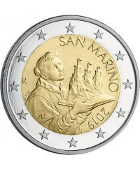 2 Euros Circulation 2019 SAINT MARIN