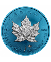 MAPLE LEAF Blue Space - 1 Once Argent CANADA 2019