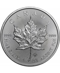 MAPLE LEAF - 1 Once Argent CANADA 2020