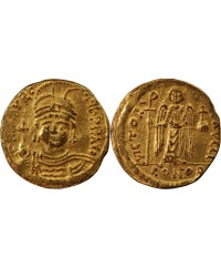 MAURICE TIBERE - SOLIDUS OR 583 / 601 CONSTANTINOPLE
