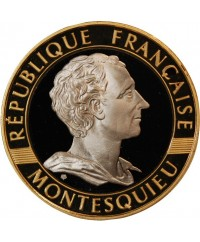 MONTESQUIEU - 10 FRANCS OR 1989