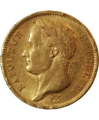 NAPOLEON Ier  - 40 FRANCS OR 1810 W LILLE