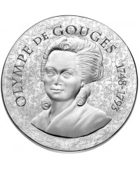 Olympe de Gouges - 10 Euros Argent BE 2017 FRANCE (MDP)