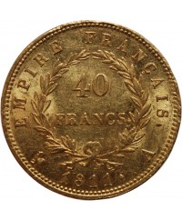 40 Francs Napoléon Ier Or - 1811 A