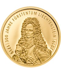 10 Francs Or 2019 - 300 ans du Liechtenstein