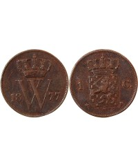 PAYS-BAS, WILLEM III - 1 CENT 1877