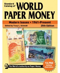 World Paper Money, 25ème Édition (2019)
