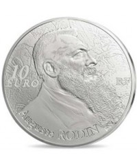 10 Euros Argent BE 2017 FRANCE - Auguste Rodin, la Sculpture (MDP)
