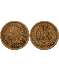 "USA - ONCE CENT ""Indian Head"" 1862"