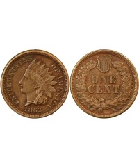 "USA - ONCE CENT ""Indian Head"" 1863"