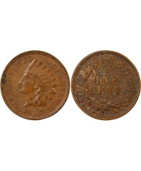 "USA - ONCE CENT ""Indian Head"" 1887"