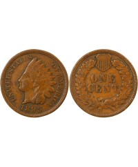 "USA - ONCE CENT ""Indian Head"" 1895"